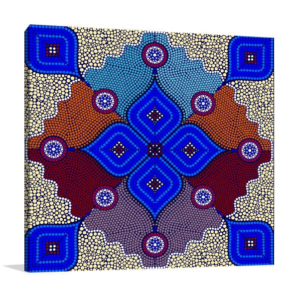 Aborigines Australia Canvas Art