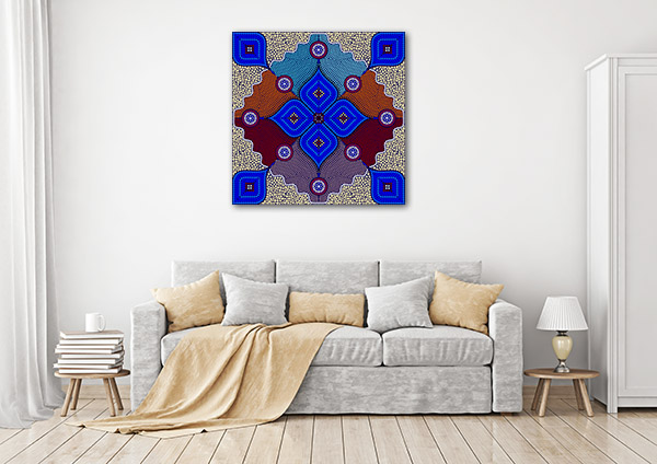 Aborigines Australia Canvas Art Prints