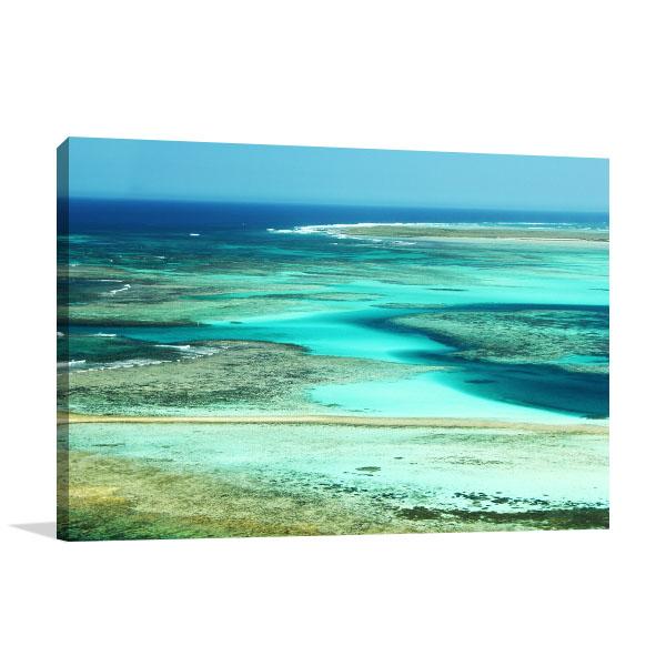 Abrolhos Perth Art Print Ocean Artwork