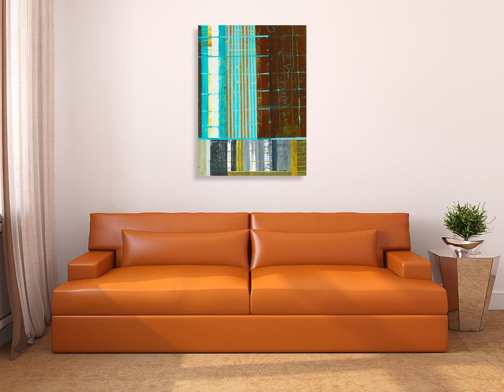 Shapes Lines Canvas Artworks Online