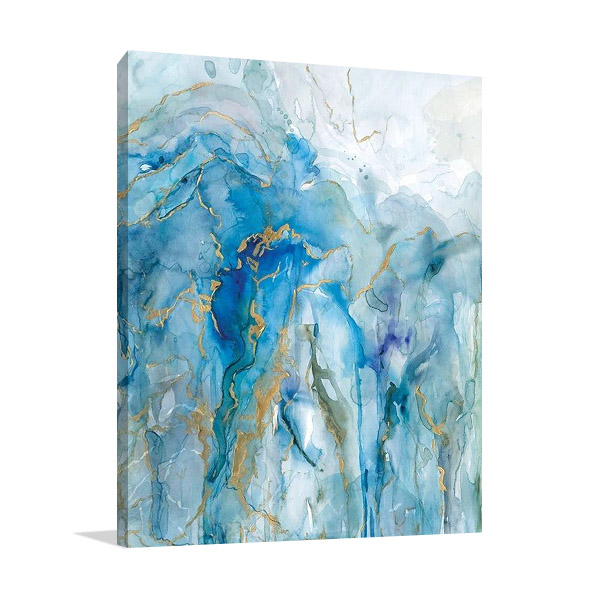 Abstract Lapis Canvas Print | Carol Robinson