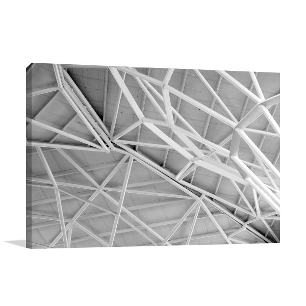 Abstract Lines Canvas Art