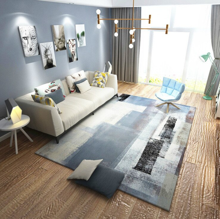 Modern Area Rugs | Abstract Ink Design | Sydney | Perth
