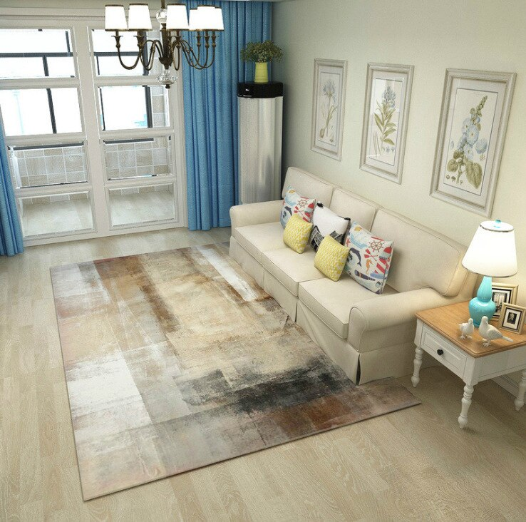 Online Modern Abstract Ink Area Rugs | Brisbane | Perth