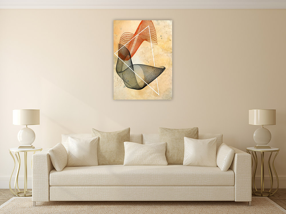 Portrait Canvas Wall Art Print