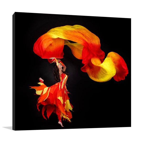 Acrobat Dancing Print Artwork