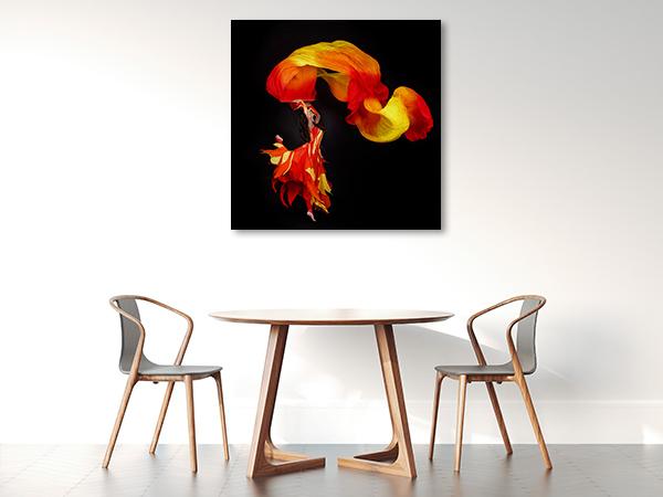Acrobat Dancing Canvas Prints