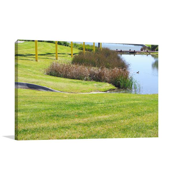 Adelaide Canvas Art Print Mawson Lakes