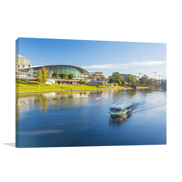 Adelaide City River Canvas Art