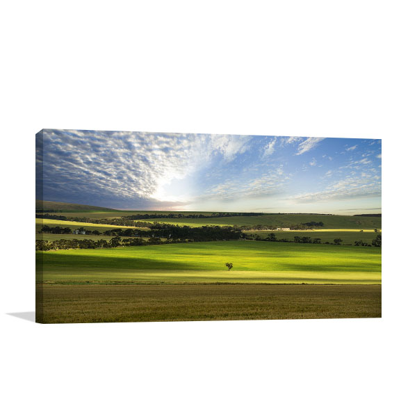 Adelaide Cloudy Day Canvas Art Prints