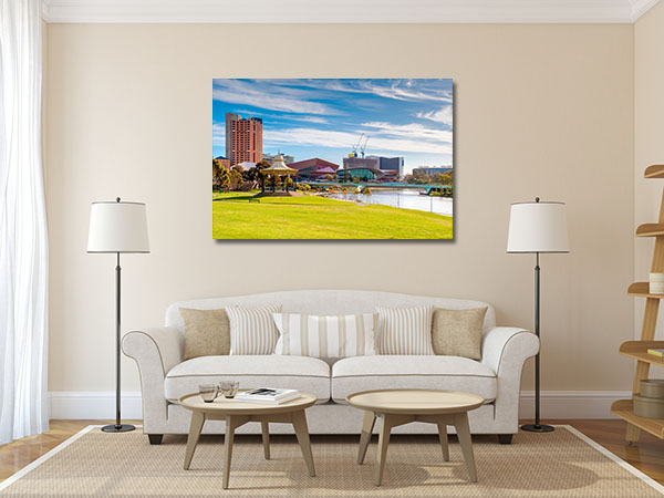 Adelaide Day View Canvas Prints