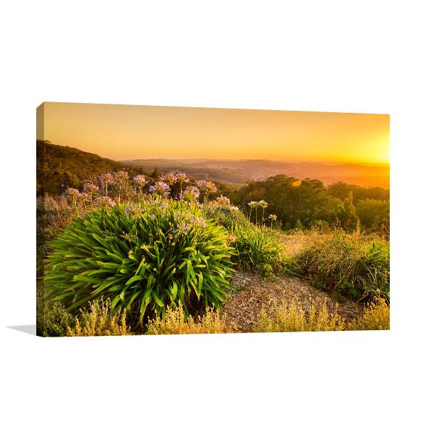 Adelaide Hills Sunrise Canvas Art Prints