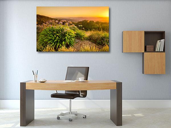 Adelaide Hills Sunrise Prints Canvas