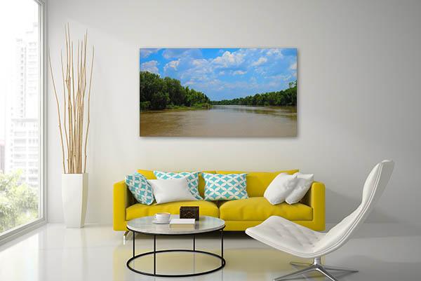 Adelaide River Salt Water Artwork
