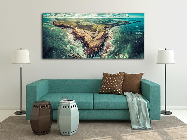 Aerial Thunder Point Warnambool Prints Canvas