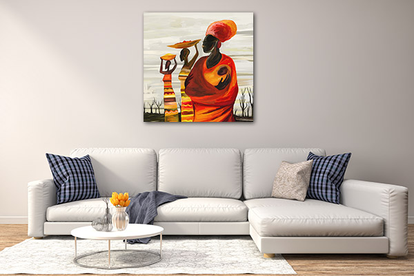 African Mother Art Prints