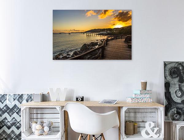Airlie Beach Art Print Coral Sea Sunrise Canvas Art Prints