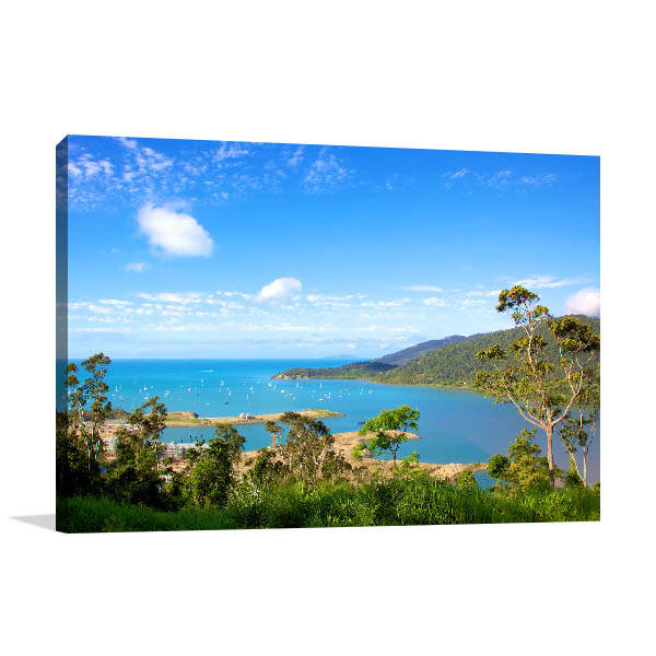 Airlie Beach Looking Canvas Art Prints