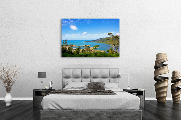 Airlie Beach Looking Canvas Art