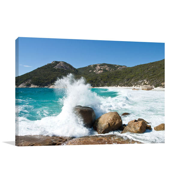 Albany Two Peoples Bay Canvas Art Prints