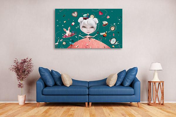 Alice in Wonderland Fantasy Artwork