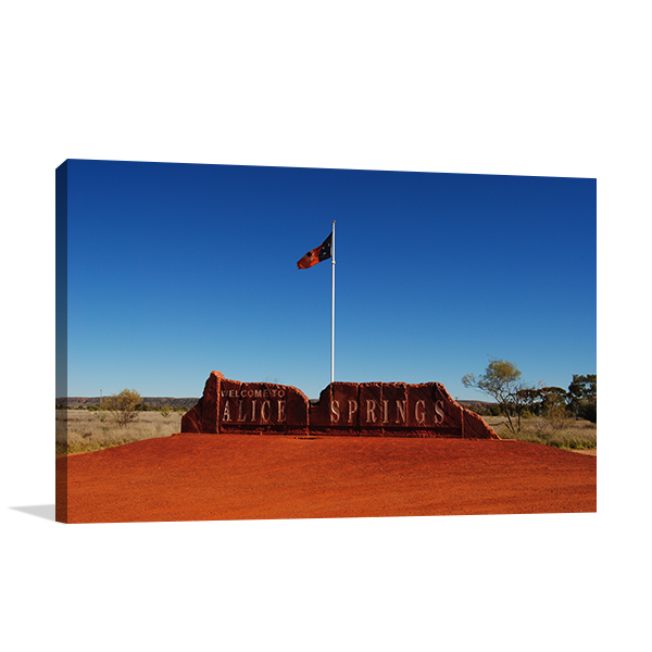 Alice Springs Center Prints Canvas