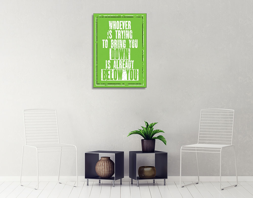 Green Inspirational Art Print