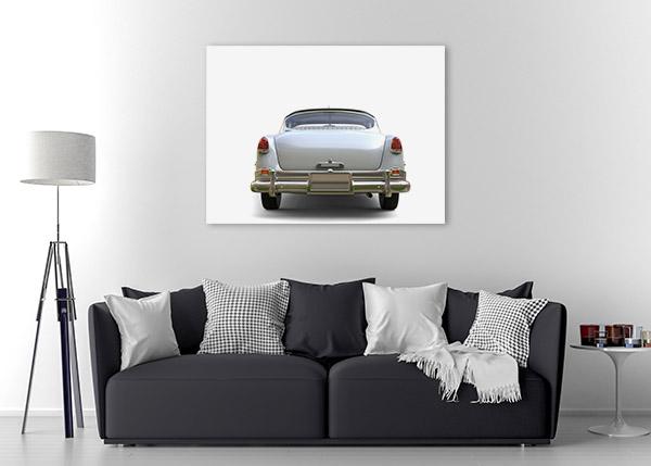 Amazing Vintage Car Print Artwork