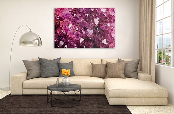 Amethyst Wall Art Print Canvas Prints