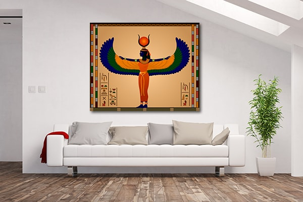 Ancient Egypt Woman Canvas Prints
