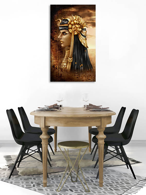 Ancient Fantasy Egyptian Queen Canvas Prints