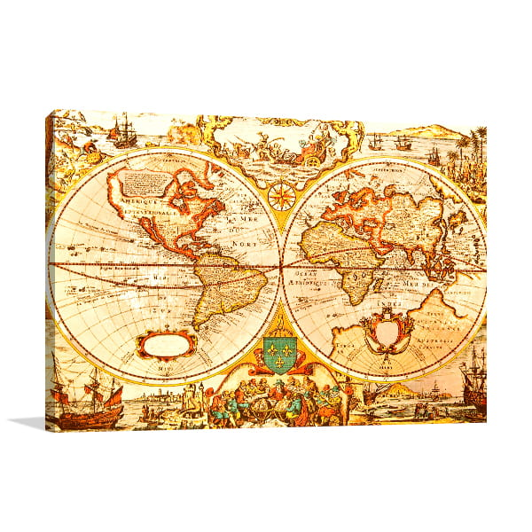 Ancient Globes Art Prints
