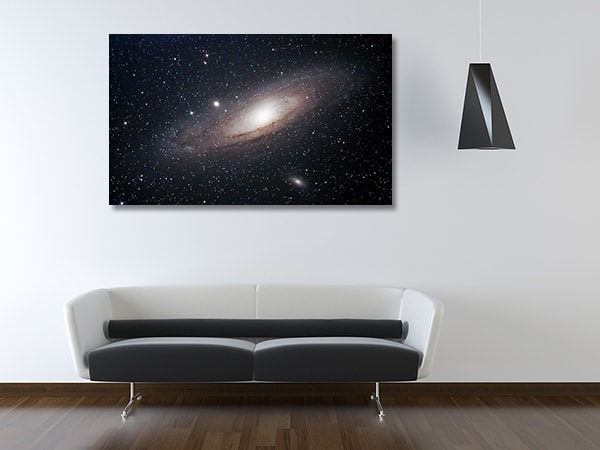 Andromeda Galaxy Prints Canvas