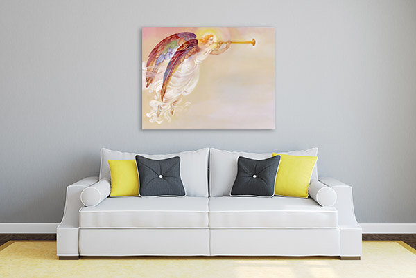 Angel With Wings Canvas Art
