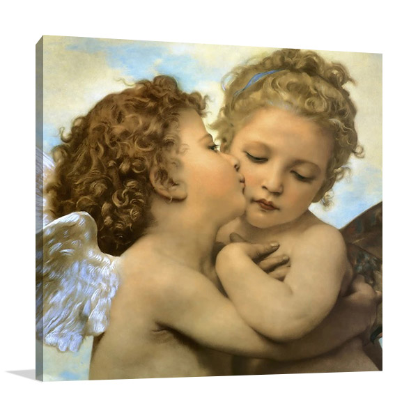 Angels and Cupids Canvas Print