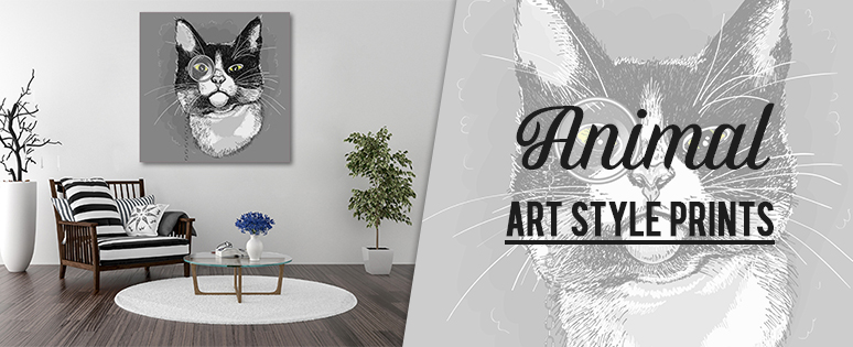 Animal Canvas Print Wall Art