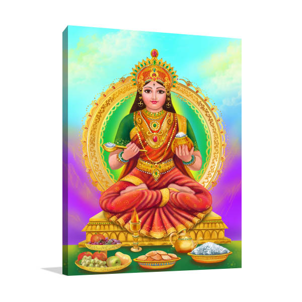 Annapoorna Goddess Wall Art