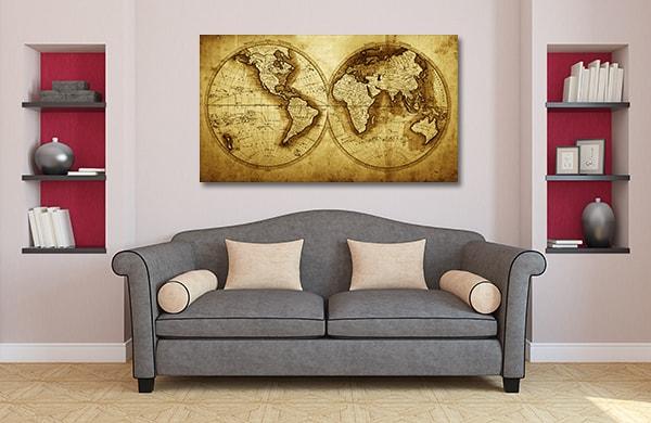 Antique Journey Prints Canvas