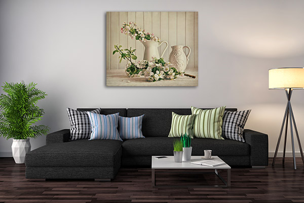 Apple Blossom Prints Canvas