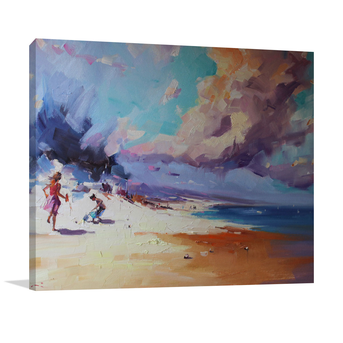Li Zhou | Approaching Storm | Prints on Canvas | Wall Art Australia