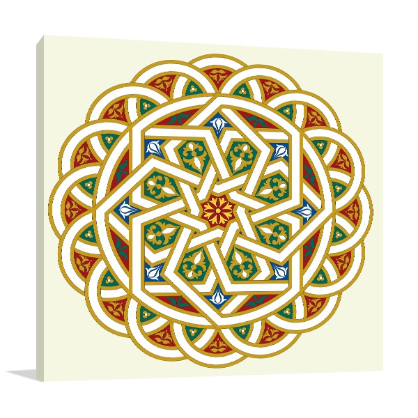 Arabesque Pattern Artwork
