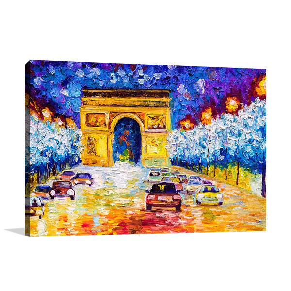 Arc De Triumph Paris Print