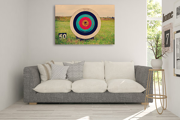 Archery on Field Print Artwork