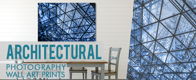 Architectural Canvas Print Wall Art