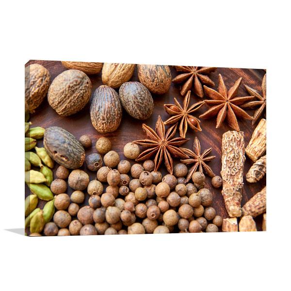 Aromatic Spices Print Artwork