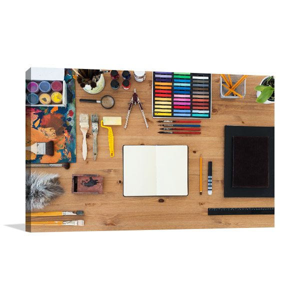 Art Tools For Drawing Canvas Art
