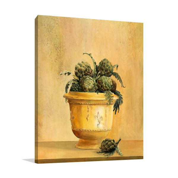 Artichokes Wall Print | Hall Hampton
