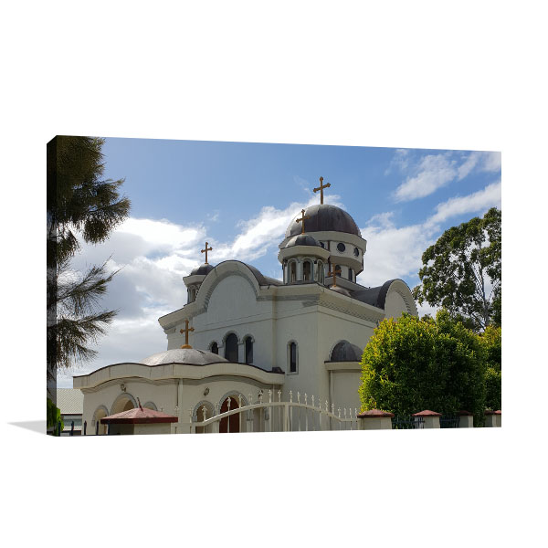 Arundel Art Print Greek Orthodox Church