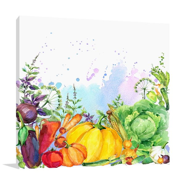 Assorted Organic Canvas Prints