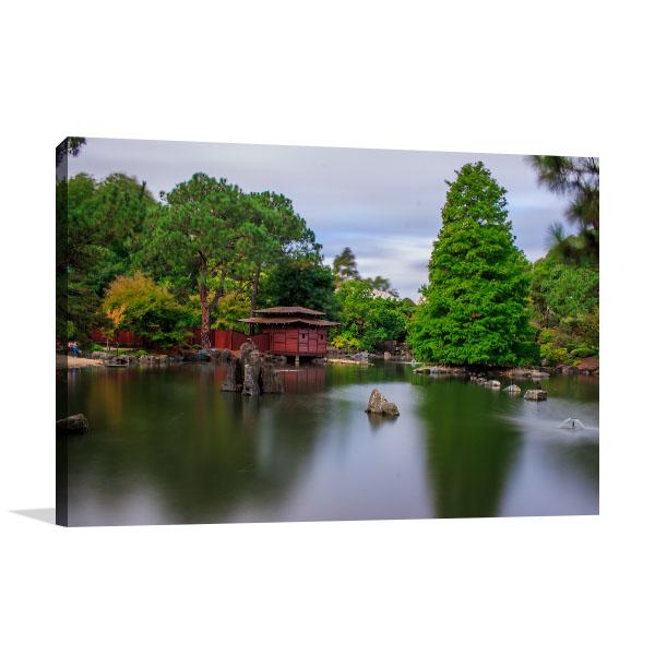 Auburn  Wall Art Print Botanic Garden
